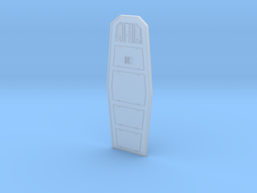 YT1300 5 FOOTER COCKPIT DOOR  in Smooth Fine Detail Plastic