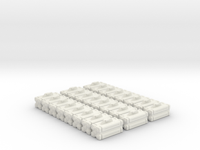 Armament: VF Micro Missiles12 Pack in White Natural Versatile Plastic