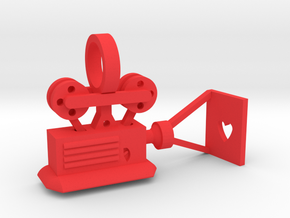 CHD Passions Movie Projector in Red Processed Versatile Plastic