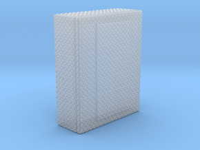 1/87 Diamond plate box in Smooth Fine Detail Plastic
