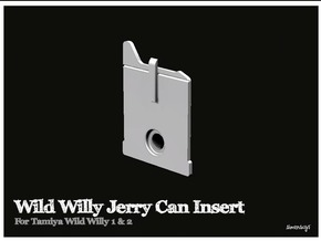 Simensays Wild Willy Jerry Can Insert in White Processed Versatile Plastic