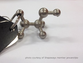 Ethanol Molecule Bottle Opener in Stainless Steel