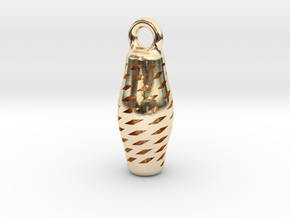 Turandot Earring in 14k Gold Plated Brass