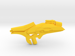 Fusion Coil Launcher  in Yellow Processed Versatile Plastic