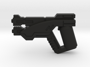 Fleet Service Pistol in Black Natural Versatile Plastic