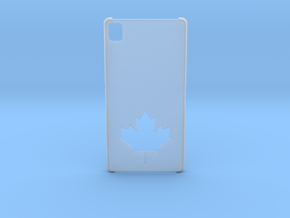 Sony Xperia Z3 Case: Canada in Smooth Fine Detail Plastic