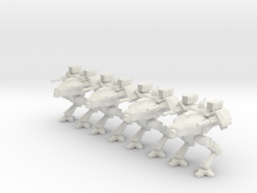 Walker Platoon 6mm in White Natural Versatile Plastic