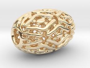 PA Sharm V4 H22x14PE14s2u1v1a10f Wax in 14k Gold Plated Brass