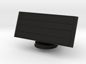1:72 scale Smart L air search radar in Black Natural Versatile Plastic