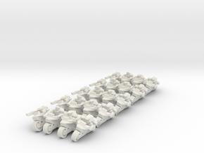 Scout Bike Company 10mm in White Natural Versatile Plastic