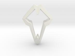 HEART TO HEART Luc, Pendant in White Natural Versatile Plastic