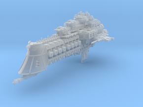 """Imperial Navy """"Overlord"""" Cruiser in Frosted Ultra Detail"""