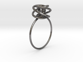 ring in Polished Nickel Steel