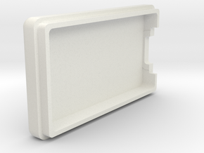 Pololu Wixel Wireless USB Case Top in White Natural Versatile Plastic