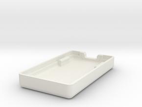 Pololu Wixel Wireless USB Case Bottom in White Natural Versatile Plastic