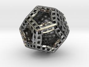 ZWOOKY Style 3415  -  Sphere in Fine Detail Polished Silver