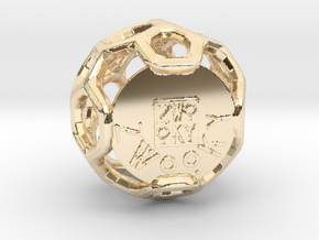 ZWOOKY Style 3409  -  Sphere in 14K Yellow Gold
