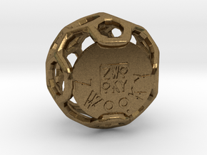 ZWOOKY Style 3409  -  Sphere in Natural Bronze