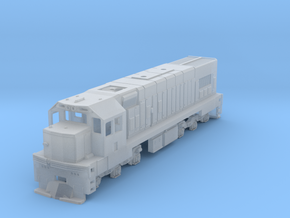 1:120 Scale Kiwirail / NZR DC - Incl Optional Rear in Smooth Fine Detail Plastic