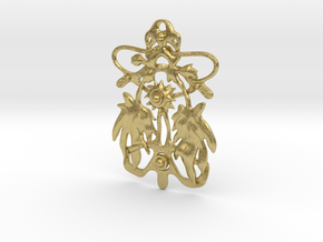Nature 001 in Natural Brass