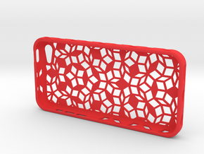 Penrose Sym Iphone 5c in Red Strong & Flexible Polished