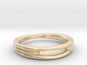 Tres 1 in 14K Yellow Gold
