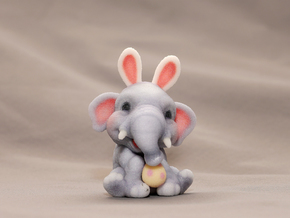 Ellie the Elephant in Full Color Sandstone