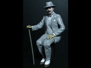 SE 7/8ths scale Plump Belgian  in Smooth Fine Detail Plastic