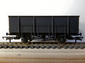 00 GWR N28 21T Mineral Wagon Body in White Strong & Flexible Polished