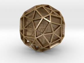 ZWOOKY Style 3418  -  Sphere in Polished Gold Steel