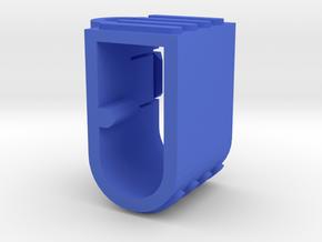 EC5 Plug Holder Vertical  in Blue Strong & Flexible Polished