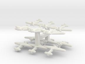 P-36/Hawk 75/Mohawk (Triplet) 1/900 x4 in White Natural Versatile Plastic