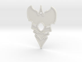 Shield thingy in White Natural Versatile Plastic