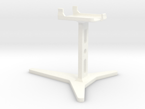 DL44 Smaller Stand in White Strong & Flexible Polished
