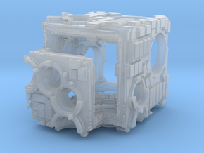 Interesting Cubeoid 001 in Smooth Fine Detail Plastic