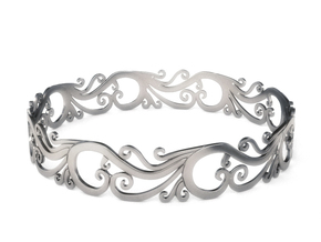 Silver Filigree Bracelet - Medium in Premium Silver