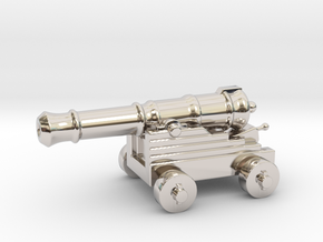 Cannon Paperweight in Platinum