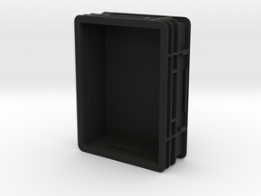 Box Type 1 - 1/10 in Black Natural Versatile Plastic