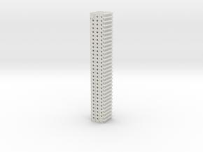 1-20 X10 Marsden Matting in White Natural Versatile Plastic
