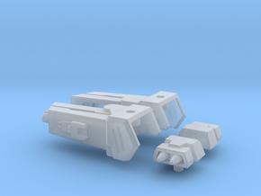 Enforcer Shoulder Cannons in Smooth Fine Detail Plastic