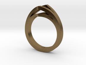 Split Shank 1 in Natural Bronze