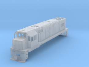 1:76 KIWIRAIL DBR Class No Sideframes Or Fuel Tank in Frosted Ultra Detail