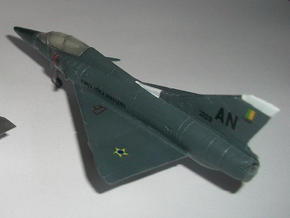 020B Mirage IIID with Canards and Cockpit 1/144 in Smooth Fine Detail Plastic