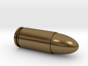 Silver Bullet 9mm (Solid) in Natural Bronze