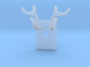 Horn jewelry Hanger  in Smooth Fine Detail Plastic