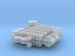 1-16 T95 Hvy Tank FUD Small Parts in Smooth Fine Detail Plastic