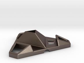 Support universel tablette téléphone light in Polished Bronzed Silver Steel