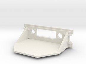 Amiga 1200 Replacement Rear Expansion Cover DVI in White Natural Versatile Plastic