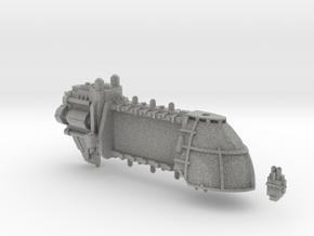 Trojan System Ship Hull in Metallic Plastic