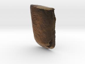 Pictish - Scottish in Full Color Sandstone